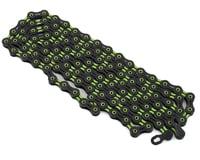 KMC X11SL DLC Super Light Chain (Black/Green) (11 Speed) (116 Links)