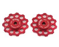 Kogel Bearings 'Not for Instagram' Derailleur Pulleys (Red) (11T)