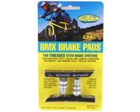 Kool Stop BMX Brake Pads (Threaded) (Black) (Pair)