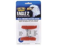 Kool Stop Eagle 2 Brake Pads (Threaded) (Salmon) (Pair)