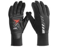 Louis Garneau Biogel Thermal Full Finger Gloves (Black)