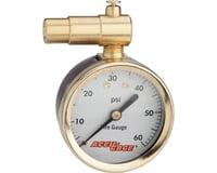 Meiser Presta-Valve Dial Gauge w/ Pressure Relief (60psi)