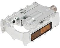 "Mks FD-7 Folding Platform Pedal (Silver) (Alloy) (9/16"")"