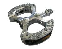 """MKS Lambda Platform Pedals (Silver) (Alloy) (9/16"""")"""