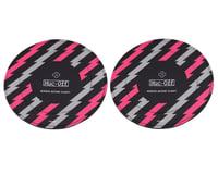 Muc-Off Disc Brake Covers (Black/Pink)
