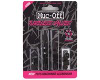 Muc-Off V2 Tubeless Presta Valves (Black) (Pair)