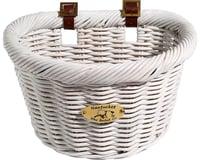 Nantucket Bike Basket Nantucket Cruiser Front Basket (White) (D-Shape)