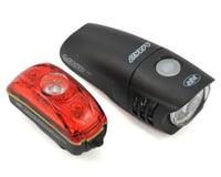 NiteRider Mako 250/Cherrybomb 35 LED Headlight & Tail Light Set (Black)