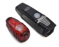 NiteRider Lumina 1200 Boost/Solas 250 Headlight & Tail Light Set (Black)