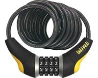 OnGuard Doberman Combo Cable Lock (Gray/Black/Yellow) (6' x 10mm)