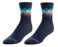 Pearl Izumi Merino Wool Socks (Navy/Teal Solitare)