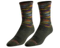 Pearl Izumi Merino Wool Tall Socks (Forest Upland Dash)