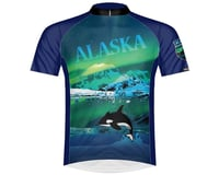 Primal Wear Men's Short Sleeve Jersey (The Last Frontier Alaska)