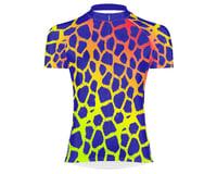 Primal Wear Women's Short Sleeve Jersey (Giraffe Print)
