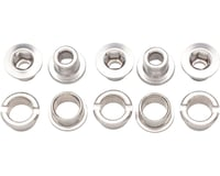Problem Solvers Double Chainring Bolts (Silver) (Alloy)