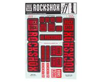 RockShox Decal Kit (35mm) (Dual Crown) (Red)