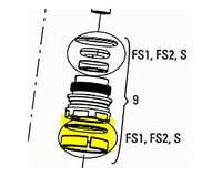 RockShox Bulk Bushing & O-Ring Inner Sealhead: Qty 10 (Includes 10 Bushings and