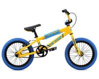 "SE Racing Lil Flyer Kids BMX Bike (16"") (Yellow) (16.5"" Tobtube)"