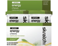Skratch Labs Sport Energy Chews (Matcha Green Tea & Lemon)