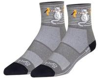 "Sockguy 3"" Socks (Hang In There)"
