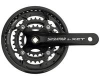 Sr Suntour XCT Jr. Crankset (3 x 9 Speed) (Square Taper)