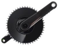 SRAM Red D1 AXS Aero Crankset (Black) (1 x 12 Speed) (DUB Spindle)