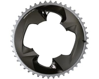 SRAM Force AXS 2x Outer Aluminum 12-Speed Chainring (Grey) (107 BCD) (4-Bolt)