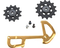 SRAM XX1 Eagle Ceramic Bearing Pulleys w/ Gold Inner Cage