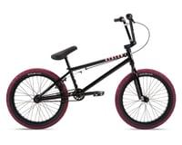 """Stolen 2021 Casino 20"""" BMX Bike (20.25"""" Toptube) (Black/Blood Red)"""