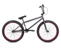"Stolen 2021 Saint 24"" BMX Bike (21.75"" Toptube) (Matte Raw/Red)"