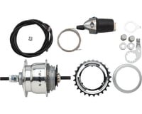 Sturmey Archer XRF8 Internal Hub (Silver) (36H) (8 Speed) (25T) (Includes Twist Shifter)