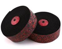 Supacaz Super Sticky Kush Handlebar Tape (Starfade Black & Red)