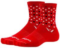 Swiftwick Vision Five Socks (Red/Black)