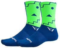 Swiftwick Vision Six Abstract Socks (Blue)