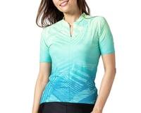 Terry Women's Soleil Short Sleeve Jersey (Wavelength/Blue)