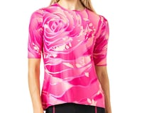 Terry Women's Soleil Flow Short Sleeve Cycling Top (Rose Pedals)