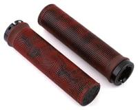 Truvativ Descendant Lock-On Grips (Red/Black Marble)
