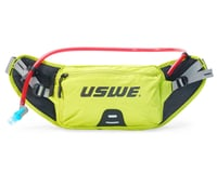 Uswe Zulo 2 Hydration Hip Pack (Crazy Yellow) (1L Bladder)