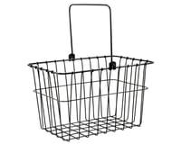 Wald 133 Standard QR Front Bike Basket (Black)