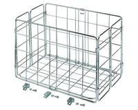 Wald Side-Mount Folding Rear Basket (12.75x7.25x8.5) (Chrome)