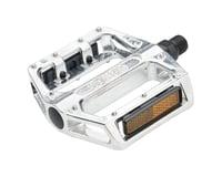 Wellgo B087 Platform Pedals (Silver) (Aluminum)