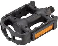 Wellgo LU-895 Pedals (Black) (Plastic)