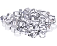 """Wheels Manufacturing Bulk Headset Spacers (Silver) (1-1/8"""") (Bag of 100)"""