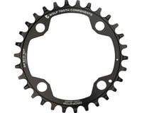 Wolf Tooth Components 4-Bolt Drop-Stop Chainring (Black) (94mm BCD)
