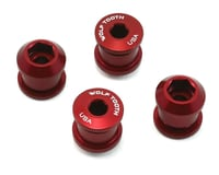 Wolf Tooth Components Dual Hex Fitting Chainring Bolts (Red) (6mm) (4)