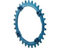 Wolf Tooth Components Drop-Stop Chainring (Blue) (104mm BCD)