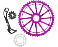 Wolf Tooth Components WolfCage Combo Pack (Purple) (49T Cog & 18T Cog)