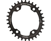 Wolf Tooth Components PowerTrac Drop-Stop Chainring (Black) (96mm Asym BCD)