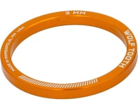 """Wolf Tooth Components 1-1/8"""" Headset Spacer (Orange) (5)"""
