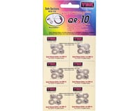 YBN QRS Reusable Quick Links (Silver) (10 Speed) (6)